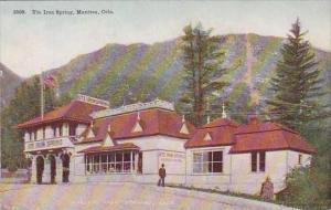 Colorado Mantitou Ute Iron Spring