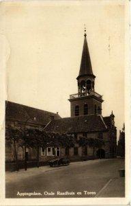 CPA APPINGEDAM Oude Raadhuis en Toren NETHERLANDS (705937)