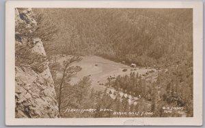 RPPC-Black Hills, Rapid City S. Dakota., Stratosphere Bowl, B. H. Studios 1610