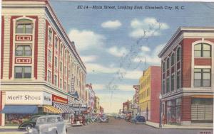 Main Street , ELIZABETH CITY , North Carolina , PU-1943