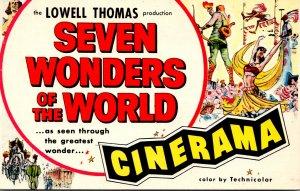 Cinerama Warner Hollywood Theatre Hollywood California 1958
