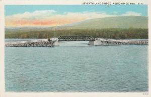 Seventh Lake Bridge near Inlet, Adirondacks, New York - WB