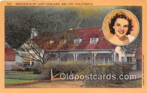 Bel Air, CA, USA Residence of Judy Garland