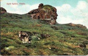 Ophit Sphinx Alaska Vintage Postcard Standard View Card