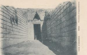 GREECE, 1900-1910´s; Tombeau d'Agamemnon