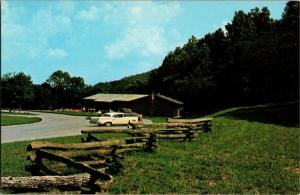 Russell Cave National Monument, Bridgeport Alabama Vintage Postcard N05