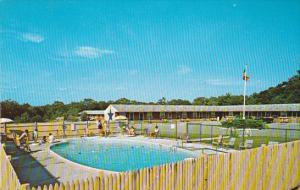 Blue Star Motel , WESTERLY , Rhode Island , 40-60s Swimming Pool