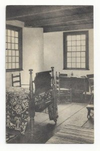 RICHMONDTOWN, Staten Island, New York, 1900-10s; Interior Voorlezer's House