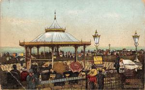 Eastbourne Margate Thanet Cliftonville Bandstand the Oval Pavilion 1911