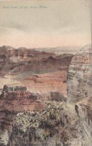 Arizona Grand Canyon Looking East From Hopi Rowe Point