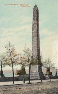 LONDON , England , 1900-10s ; Cleopatra's Needle