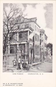Side Piazzas by Elizabeth O'Neill Verner Charleston South Carolina Artvue