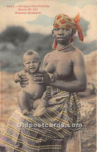 Afrique Occidentale Femme Soussou African Nude Unused
