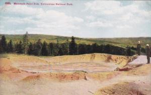 Mammoth Paint Pots Yellowstone National Park