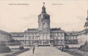Germany Charlottenburg Gruss Aus Konigl Schloss