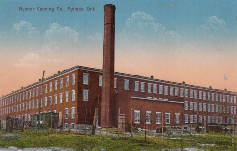 AYLMER , Ontario , 1900-10s ; Canning Company