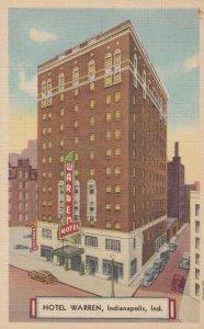 INDIANAPOLIS , Indiana , 1930-40s ; Hotel Warren
