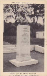 Daniel Chester Frence Sculptor, Bust of Daniel Webster, Franklin, New Hampshi...