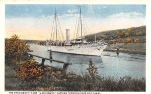 The Presidents Yacht Cape Cod, Massachusetts Postcard