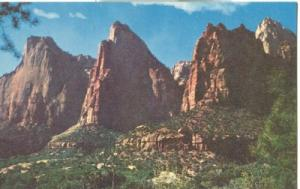 Court of the Patriarchs, Zion National Park, Utah, unused...