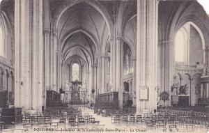 Interieur De La Cathedrale, Saint Pierre, Le Choeur, Poitiers (Vienne), Franc...