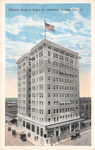 Tampa Florida~Citizens Bank & Trust Company~Ground Floor Store Windows~1925 PC