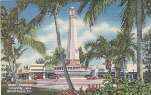 Florida Miami Beach Fountain At Normandy Isles Curteich