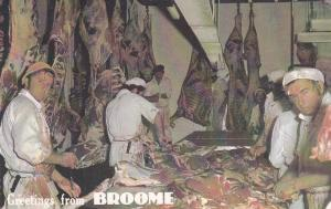 Interior Butcher Shop , BROOME , N.S.W. , Australia , 40-60s