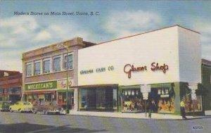 South Carolina Union Modern Stores On Main Street