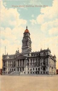 Michigan  Detroit   Wayne County Building, Cadillac Square