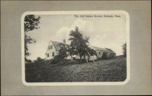 Scituate MA The Old Oaken Bucket c1910 Postcard