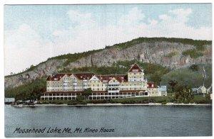 Moosehead Lake, Me, Mt. Kineo House