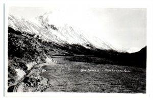 RPPC Lake Bennett, BC, White Pass & Yukon Route Real Photo Postcard *6V(3)10
