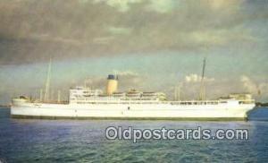 SS Nassau Steam Ship Unused