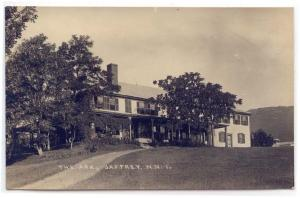 RPPC,  Jaffrey, New Hampshire, Early View of The Ark