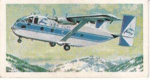 Trade Cards Brooke Bond Tea Transport Through The Ages No 40 Transport Aircraft