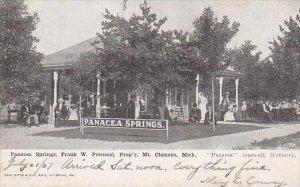 Michigan Mt Clemens Panacea Springs Frank W Preussel Proprietor 1907