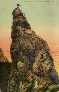 austria, INNSBRUCK, Frau Hitt-Spitze (1909) Postcard