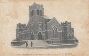 HUTCHINSON , Kansas , PU-1908 ; First Methodist Episcopal Church