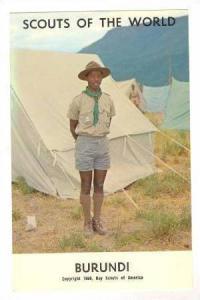 Burundi Boy Scout, 1968