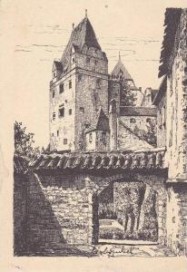 Karl Winkel, Trausnitz Castle, Burg Trausnitz, Landshut, Bavaria, Germany, 30...