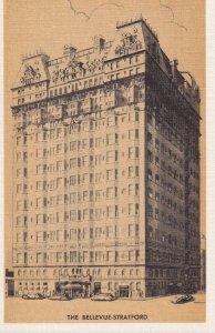 PHILADELPHIA, Pennsylvania, 1930-1940's; Bellevue-Stratford Hotel