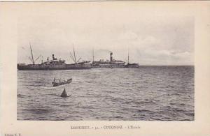 DAHOMEY . 1900-10s ,COTONOU.-L'Escale