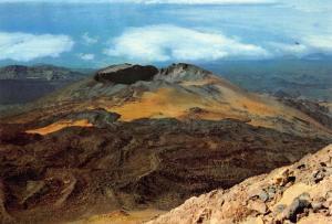 Spain Islas canarias Tenerife The Old Peak Panoramic view Postcard