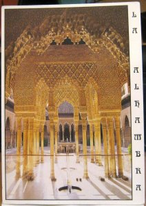Spain La Alhambra Court of the Lions - posted 1999