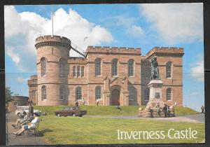 Scotland, Inverness Castle, mailed in 1989 to USA