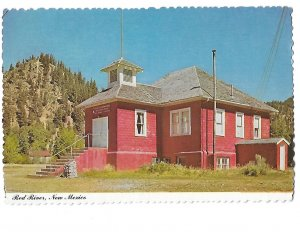 Little Red School House Red River, New Mexico 4 by 6
