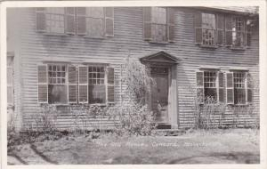 Massachusetts Concord The Old Manse Real Photo