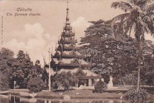 The Burmese Pagoda Calcutta India