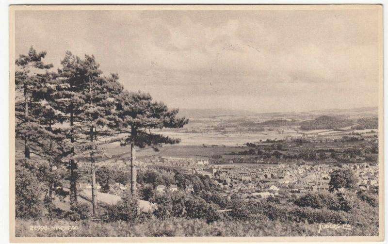 Somerset; Minehead From The Moors PPC By Judges, 1957 PMK, To Miss Holder, Poole